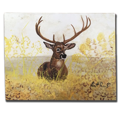 Limited Edition 11x14 Canvas Prints - Aww Buck!