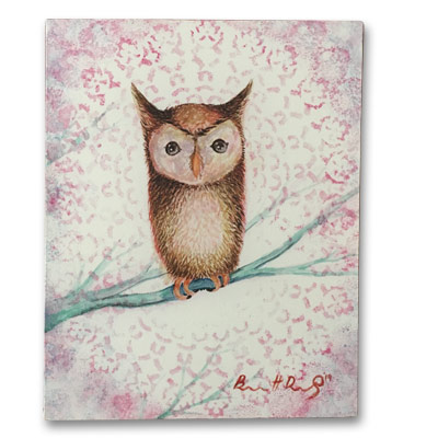 Limited Edition 11x14 Canvas Prints - Hoot Hoot Mr. Owl