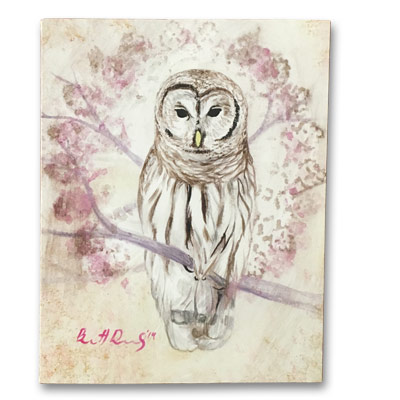 Limited Edition 11x14 Canvas Prints - Proud Owl