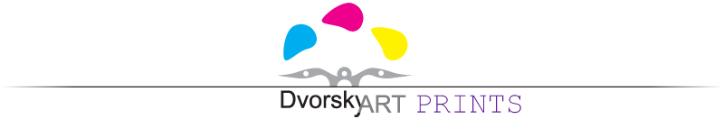 Dvorsky Art Prints Logo